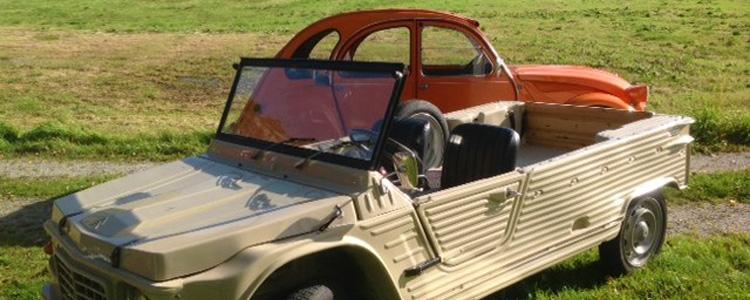 Citroën Mehari og Citroën 2CV