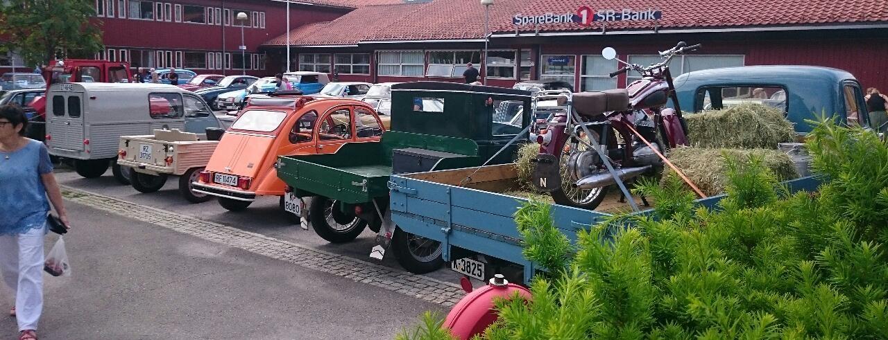 Forskjellige Citroën på Tonstad