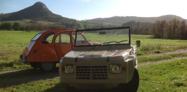 Citroën 2CV og Citroën Mehari